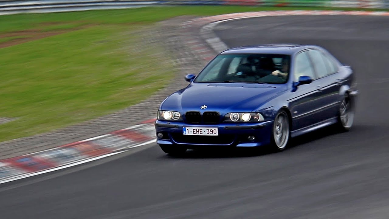 BMW M5 E39 LOUD Sounds at the Nürburgring! - 1080p HD - YouTube