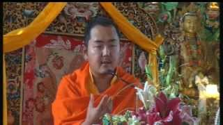 2012-02-29 afternoon - The 37 Practices of Bodhisattva teaching by HE Khamtrul Rinpoche