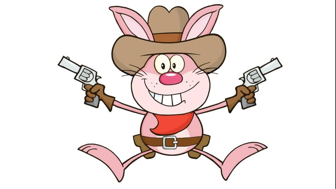 Comment dessiner un lapin de cow boy youtube - Dessin un lapin ...