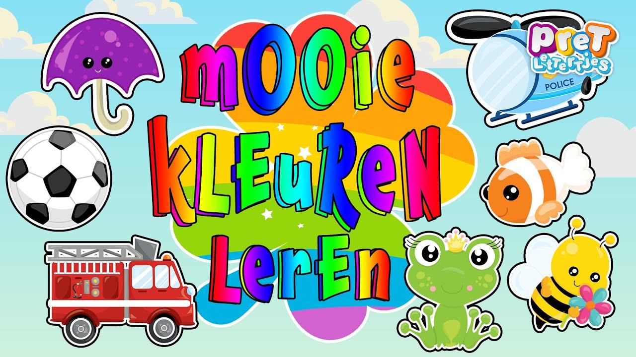 Wonderbaar Kleuren Leren Nederlands |Kent jouw Peuter alle kleuren? Kleuren DB-94