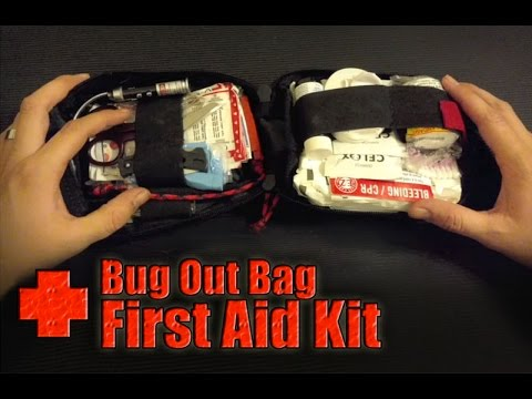 Emergency Survival Medical Pouch   Bug Out Bag First Aid Kit - YouTube 623ecbf743