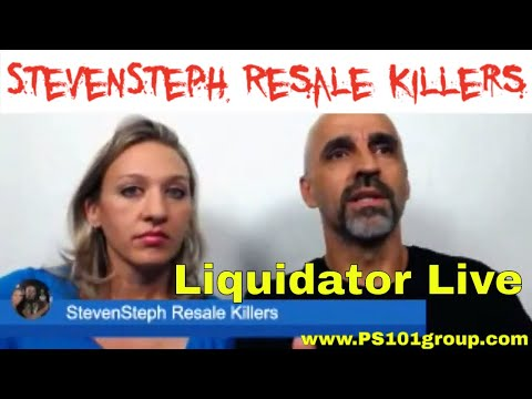 Liquidator Live Hangout #5 with Steven and Steph the Resale Killers - Local Vs. Online Sales