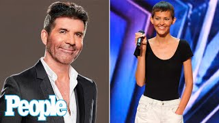 AGT's Simon Cowell Praises Cancer-Stricken Singer with '2 Percent Chance of Survival'   PEOPLE