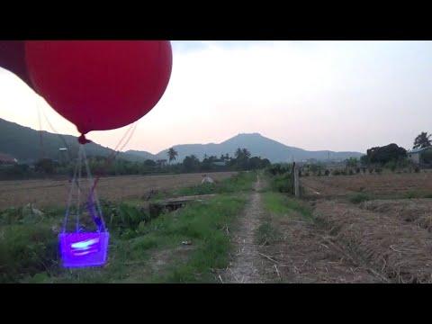 cách làm khinh khí cầu điều khiển từ xa đơn giản [choidehoczzz]