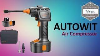 Autowit Compresseur d'Air Portable - 8 Bar - 115 PSI - CA1502 - Unboxing