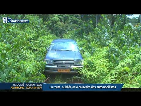 GABON / AXE MIMONGO KOULA-MOUTOU : La route  oubliée et le calvaire des automobilistes