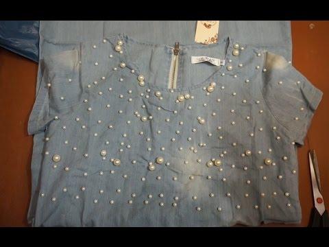 Джинсовое платье с алиэкспрес