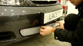 Защита радиатора на Chevrolet Lacetti (Шевроле Лачетти) Хэтчбек(, 2014-11-09T02:12:35.000Z)