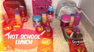 Kids school  lunch ideas | what they ate | hot lunch 2018