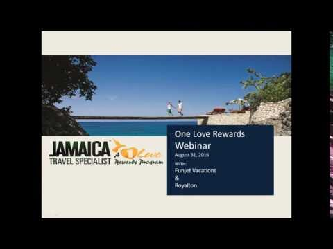 Jamaica Travel Agent training webinar with Funjet Vacations and Royalton