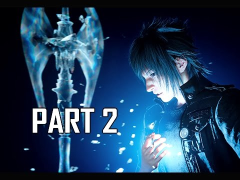 Final Fantasy 15 Walkthrough Part 2 - Power of Kings (FFXV PS4 Pro Let's Play Commentary)