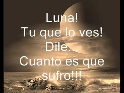 Ana Gabriel   Luna letra