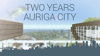 Two years AurigaCity Youtbe channel anniversary - giveaway inside