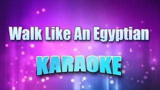 Bangles, The - Walk Like An Egyptian (Karaoke version with Lyrics)
