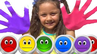Learn colors song for kids with english singing songs | English for kids & nursery rhymes
