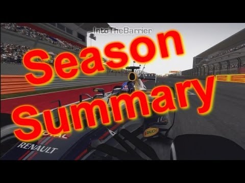 F1 2013 Season Summary