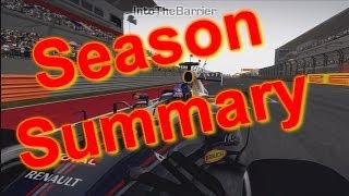 F1 2013 Season Summary Thumbnail