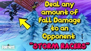 Fortnite Storm Racers - Deal any amount of Fall Damage to an Opponent