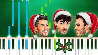 Jonas Brothers - Like It's Christmas (Piano Tutorial Easy) By MUSICHELP