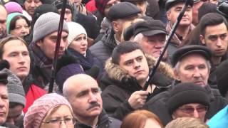"""Митинг """"Рух нових сил"""" М.Saakashvili  """"Последняя зима этой """"Рады""""!"""