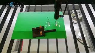 Co2 laser cutting machine Cutting hollow board