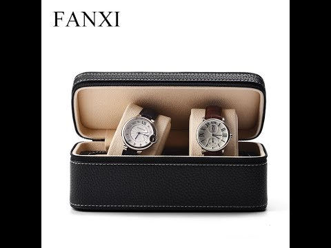 FANXI Factory Custom Leather Watch Gift Storage Display Box