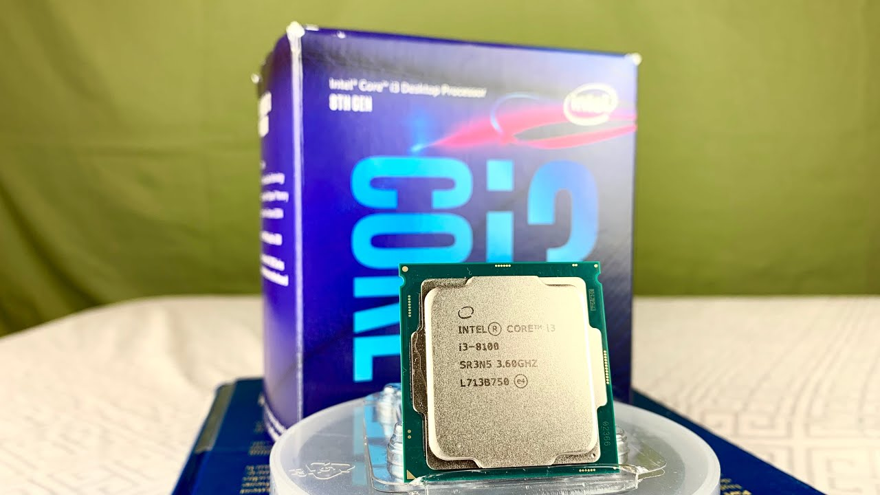 Intel i3-8100 Benchmarks and Review! | Best Budget CPU! (Intel i3-8100 vs AMD FX-6300) - YouTube