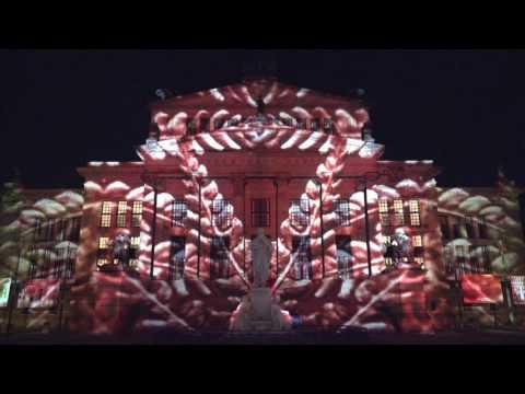 Berlin Festival of Lights 2015 in 4K -- Konzert Haus Berlin