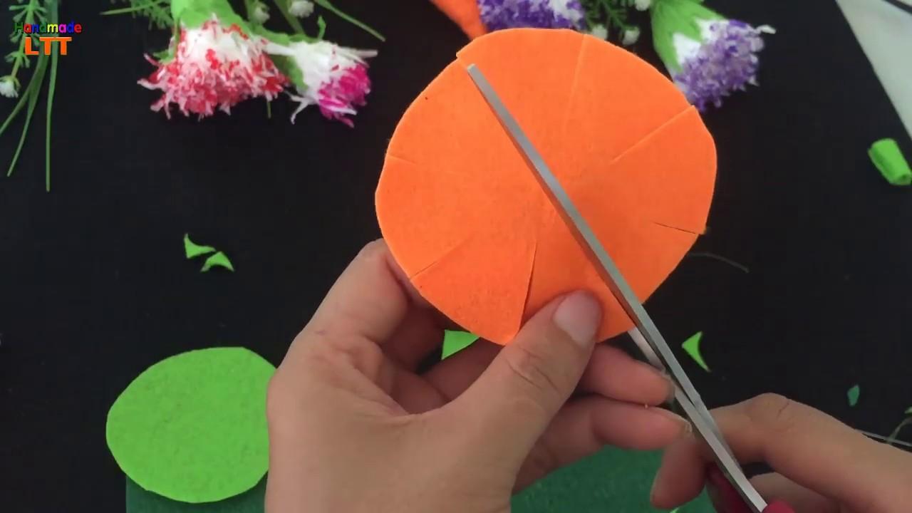 Cách làm bánh kem từ vải nỉ | Làm bánh kem từ vải nỉ ❀ Handmade LTT