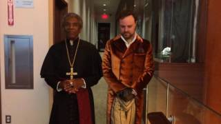 Andre De Shields as Cardinal Gremio in The Taming of the Shrew at Shakespeare Theatre Company