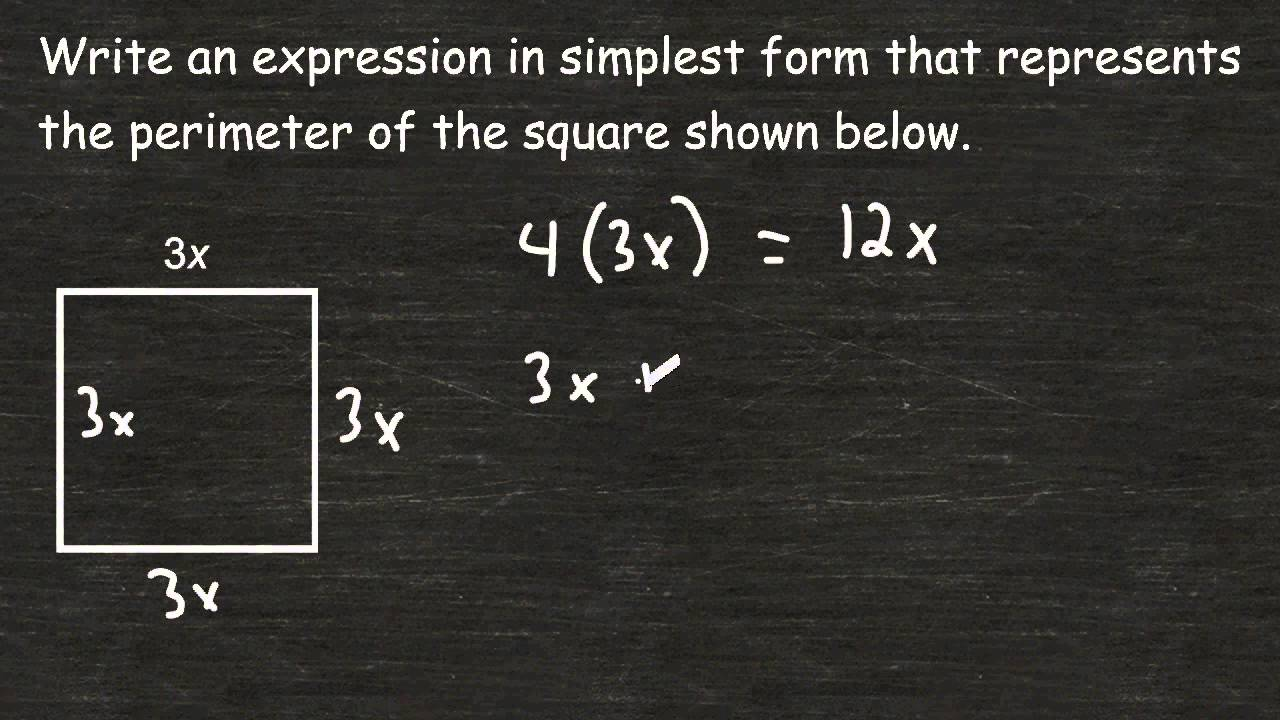 how to find the area of a rectangle with algebraic expressions worksheet