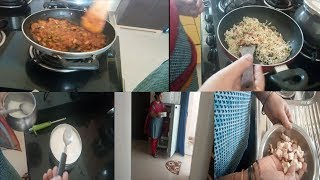 a day in my lifemushroom matar masalamushroom fried ricerama sweet home