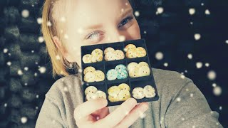[ASMR] Calendrier de l'avent ~ Jour 12 ~ Collection de boutons n°1 ~ Tapping & Whispering
