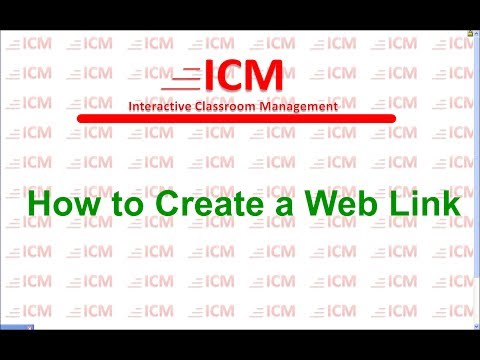 How to Create a Web Link on Your Smart Board