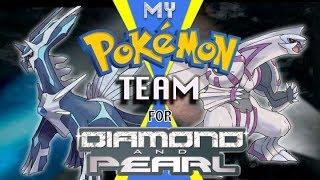 My Favorite Pokémon Team for Diamond and Pearl