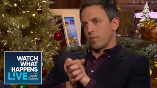 Seth Meyers Asks How Andy Handles Bad Guests - Host Talkative - WWHL