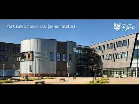 Law (LLB) (Senior Status) - Undergraduate, University of York