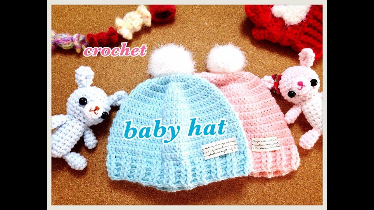 Crochet baby kids cap