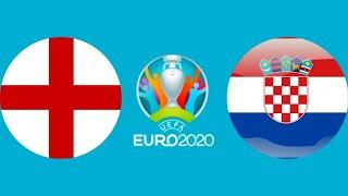 Футбол Евро 2020 Англия Хорватия итог и результат Чемпионат Европы по футболу 2020