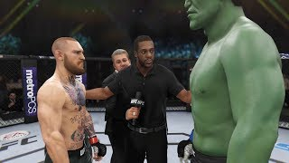 Conor McGregor vs HULK  UFC