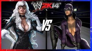 WWE 2K14 S2E2 - Black Cat VS Catwoman (Ladder Match)