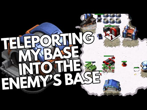 Teleporting into the enemy base! - Red Alert Remastered |