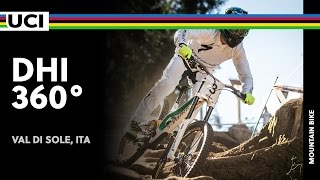 360° at Val di Sole Trentino - DH / 2016 UCI Mountain bike World Championships