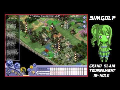 Sid Meier's SimGolf (PC) [KRocketneo Course 1] Grand Slam 18-Hole Tournament