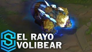 El Rayo Volibear Skin Spotlight - Pre-Release - League of Legends