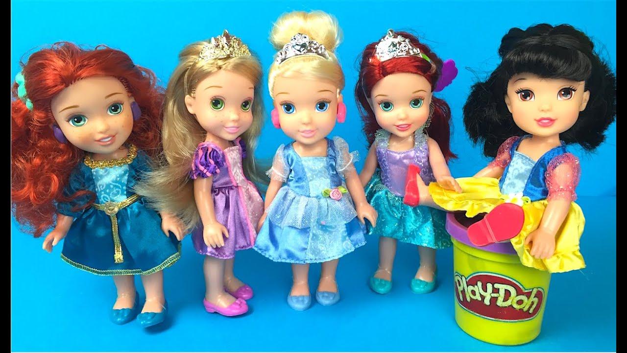 Disney princesses my first disney petite princess party gift set rapunzel snow white - Petite princesse disney ...