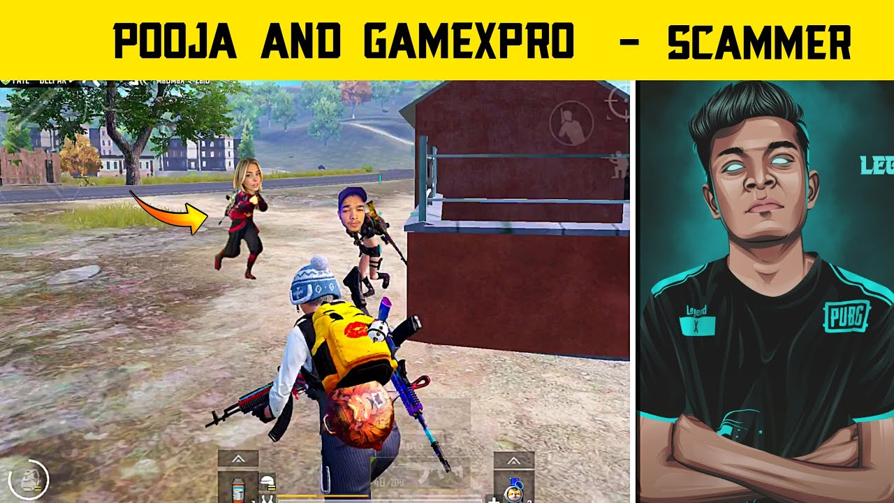 🔥I Found Gamexpro Girlfriend In Pubg Mobile - Girl Gamer Pubg Scammer - Legend X