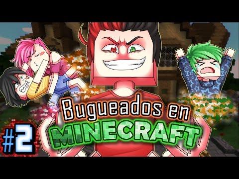 BUGUEADOS EN MINECRAFT: BUSCANDO A HACH | #2 (Con Mago, Shina y Hach)