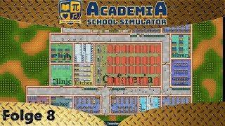 Academia: School Simulator - Seniors und Juniors Klassenräume - Let's Play #8 - Deutsch - German
