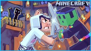Minecraft but it's a tournament in the purge coliseum...